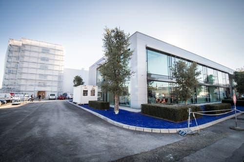 Die neuen Produktionshallen der Mowag in Tägerwilen. (Bild: Reto Martin)