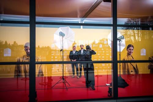 Fotostudio für die Fotografen. (Bild: Roger Grütter (Luzern, 16. Februar 2019))