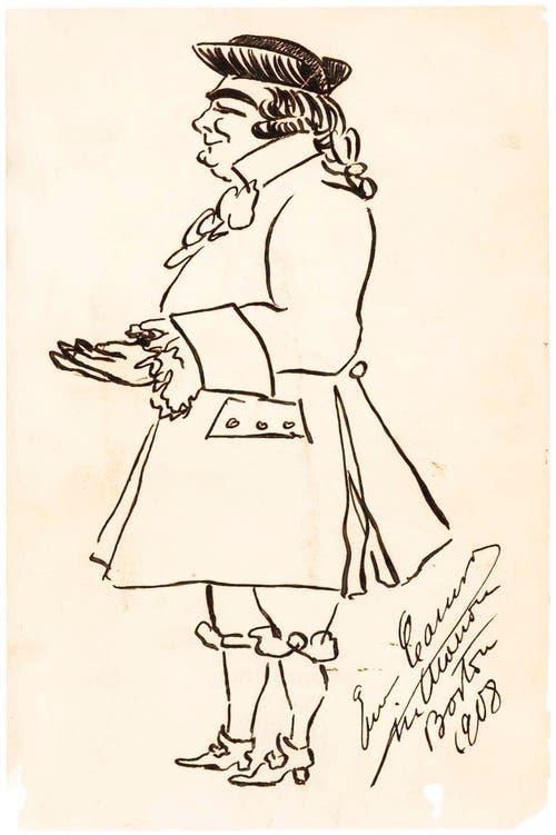Von Opernsänger Enrico Caruso.
