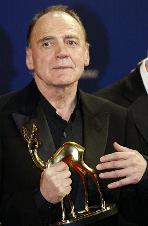 Ganz erhielt ein Bambi Preis für seine Rolle als Adolf Hitler in dem Film «Der Untergang». (Bild: Keystone)