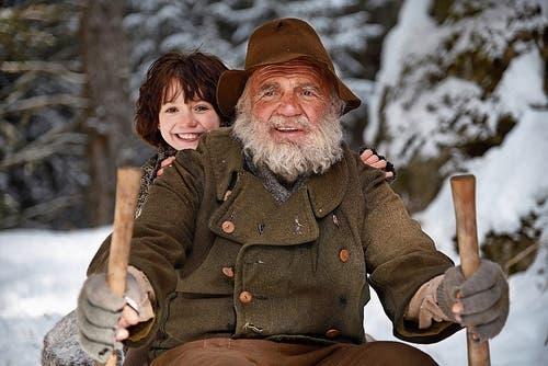 Immer wieder war Bruno Ganz auch in Schweizer Filmen zu sehen, wie hier als Alpöhi in «Heidi» (2015). (Bild: Bilder: PD)