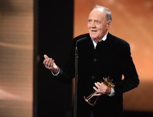 Am 1. Februar 2014 wurde Ganz ein Lifetime Achievement Award in Berlin verliehen. Bild: Keystone)