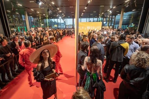 Der Anlass findet in diesem Jahr zum ersten Mal im KKL Luzern statt. (Bild: KEYSTONE/Urs Flueeler)