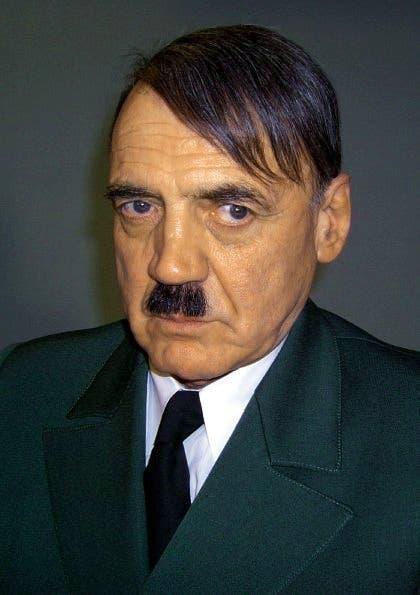 In der Rolle des Adolf Hitler. (Bild: Keystone)