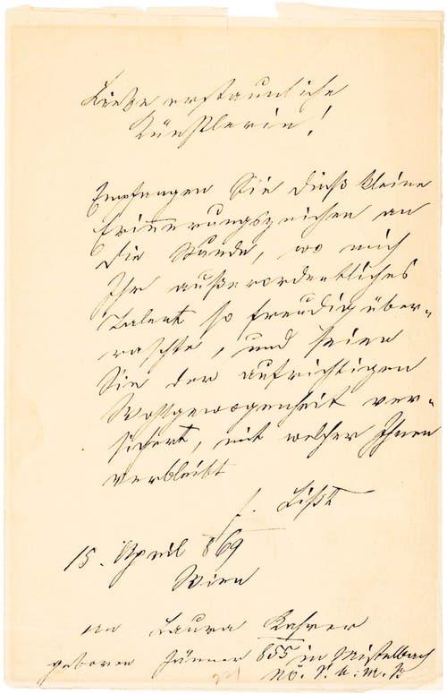 Von Komponist Franz Liszt.