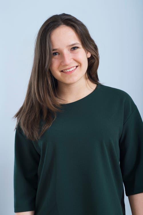 Anja Meier, 21, Willisau.