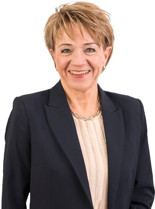 Inge Lichtsteiner (bisher), 58, Egolzwil.