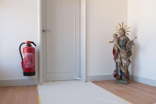 Für den Brandschutz im Haus Nazareth, wo die Schwestern aus Wikon einziehen werden, ist gesorgt.