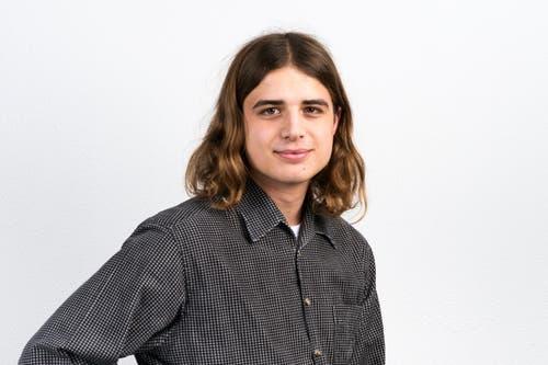 Oliver Steiger, 20, Schlierbach.