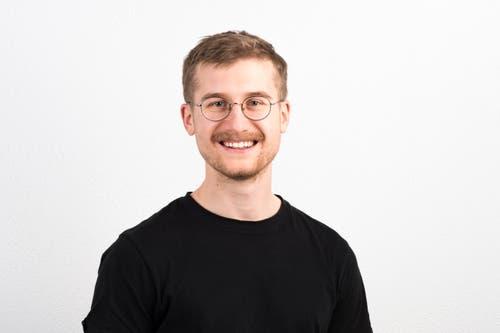 Martin Bucher, 23, Schenkon.