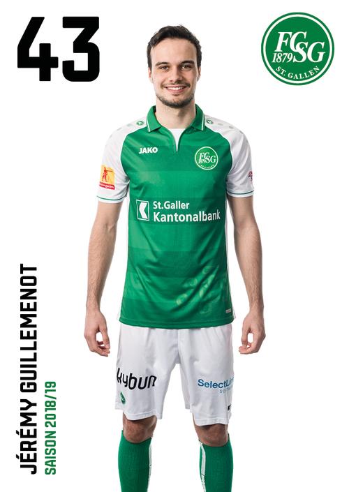 Jérémy Guillemenot: Note 5. Er ist lange kaum zu sehen, nützt aber gleich St.Gallens erste Chance zum 1:0.