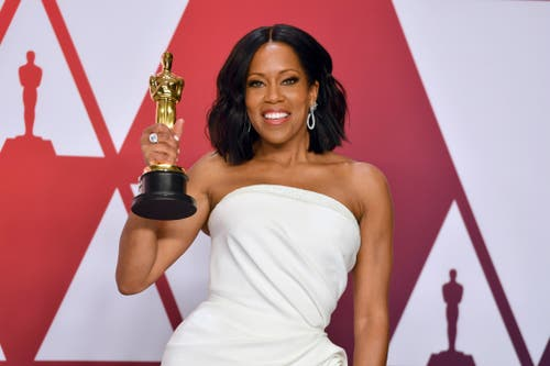 Regina King gewinnt für ihre Rolle in «If Beale Street Could Talk» den Oscar als beste Nebendarstellerin. (Photo by Jordan Strauss/Invision/AP)