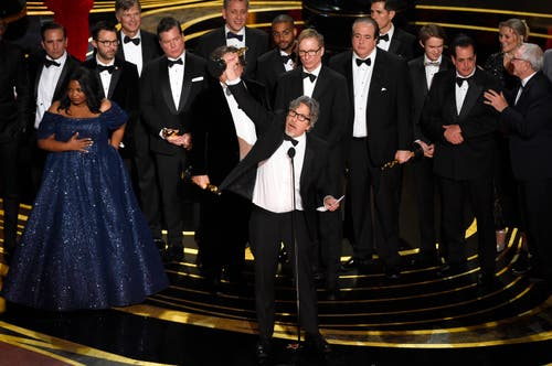 «Green Book» erhält den Oscar in der Kategorie bester Film. «Green Book» gewann auch den Oscar für das beste Originaldrehbuch. (Photo by Chris Pizzello/Invision/AP)