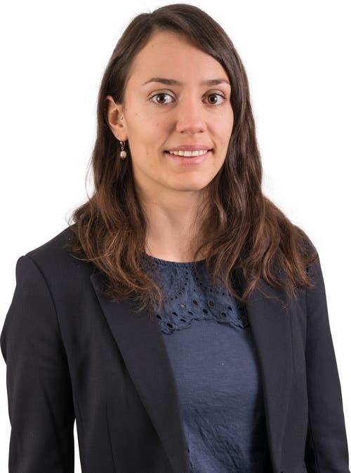 Esther Hagmann, 30.