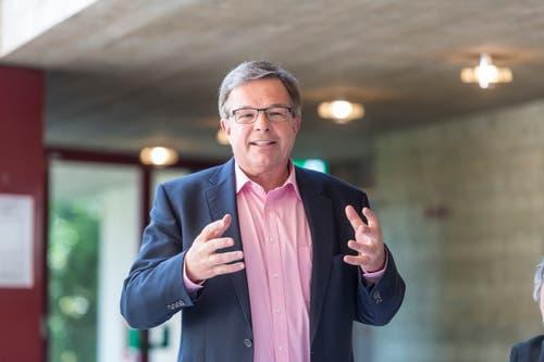Werner Signer, Geschäftsführer von Konzert und Theater St.Gallen, wurde 2007 zum Ehren-Födlebürger. (Bild: Hanspeter Schiess)