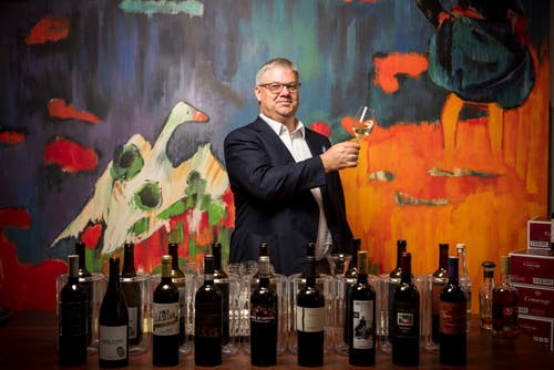 Als «Botschafter der Gallusstadt in der Fremde» wurde Philipp Schwander 2016 geehrt. Er ist der einzige «Master of Wine» der Schweiz.