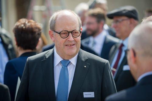 Für seine Bemühungen beim (gescheiterten) Geothermie-Projekt im Sittertobel wurde alt Stadtrat Fredy Brunner 2011 geehrt.