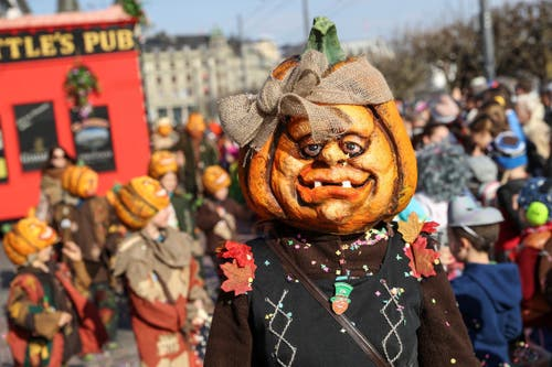 Chottlebotzer Lozärn mit dem Motto «Chottlebozser's All Hallows Eve». (Bild: Philipp Schmidli)