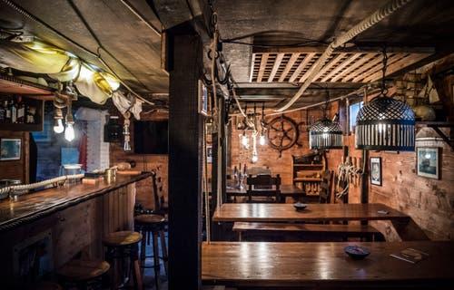 Innenansicht des Clublokals im Untergeschoss. (Bild: Andrea Stalder)