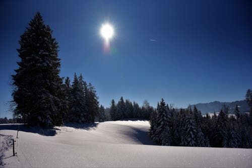 Das Napfbergland bei Luthern. (Bild: Ledi Herzog, 5. Februar 2019)