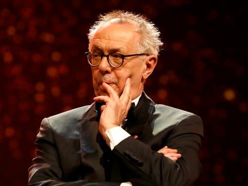 Viel Lob hat Festivaldirektor Dieter Kosslick zur Eröffnung seiner letzten Berlinale bekommen. (Bild: KEYSTONE/EPA/FELIPE TRUEBA)