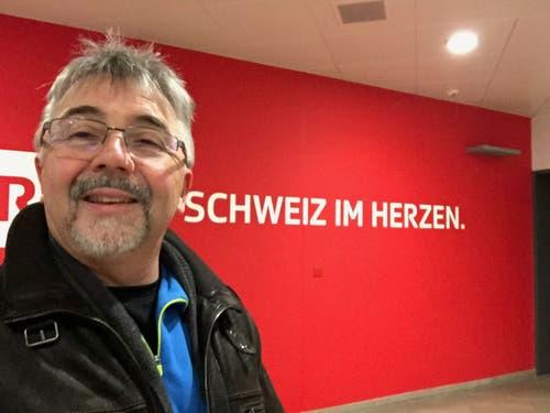 Marco Lucchi arbeitet leidenschaftlich gerne für das Schweizer Fernsehen. (Bild: PD)