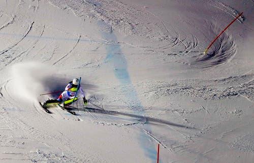 Im Slalom war Wendy Holdener die Drittschnellste... (Bild: Valdrin Xhemaj)