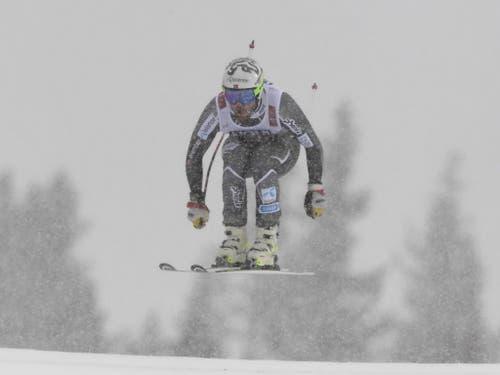 Kjetil Jansrud fährt quasi im Blindflug zu Abfahrts-Gold (Bild: KEYSTONE/EPA/CHRISTIAN BRUNA)