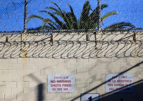 Die Todestrakte in den US-Gefängnissen sind schwer gesichert. (Bild: Keystone)