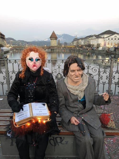 Leserin Sabine Ittig wünscht mit ihren Impressionen allen Fasnachts-Teilnehmern viel Spass.