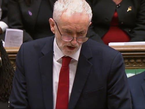 Labour-Chef Jeremy Corbyn bezeichnete die Verhandlungen als «gescheitert». (Bild: KEYSTONE/EPA UK)