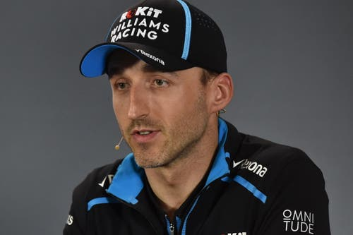 Robert Kubica (POL, 34), Williams-Mercedes. 76 Starts, 1 Sieg, 273 WM-Punkte. (Bild James Ross/Epa (Melbourne, 14. März 2019))