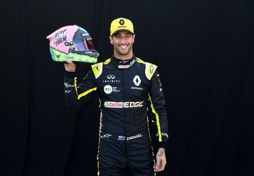 Daniel Ricciardo (AUS, 29), Renault. 150 Starts, 7 Siege, 986 WM-Punkte. (Bild Julian Smith/Epa (Melbourne, 14. März 2019))