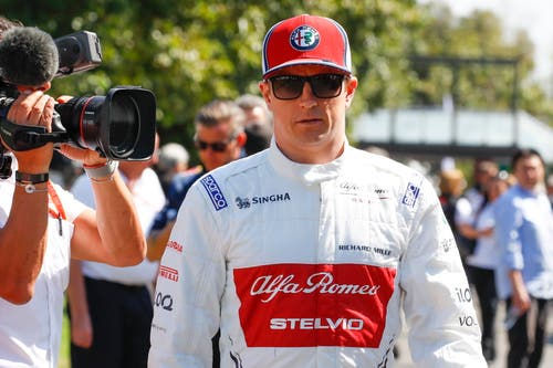 Kimi Räikkönen (FIN, 39), Alfa Romeo-Ferrari. Starts: 292, Siege: 21, WM-Punkte 1816, Weltmeister 2007. (Bild: Diego Azubel/Epa (Melbourne, 14. März 2019))