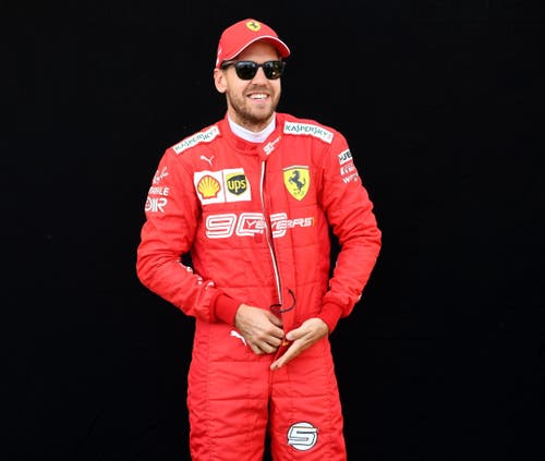 Sebastian Vettel (GER, 31), Ferrari. 219 Starts, 52 Siege, 2745 WM-Punkte, viermaliger Weltmeister (2010, 2011, 2012, 2013). (Bild Julian Smith/Epa (Melbourne, 14. März 2019))