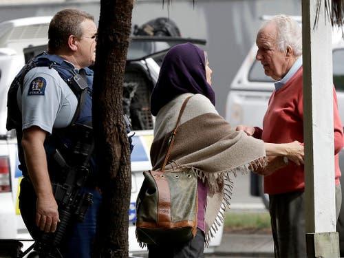 Die Regierung forderte Muslime in Neuseeland auf, zuhause zu bleiben. (Bild: KEYSTONE/AP/MARK BAKER)