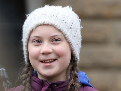 Für die schwedische Klimaschutz-Aktivistin Greta Thunberg musste die weltweite Bewegung «Fridays For Future» kommen. (Bild: KEYSTONE/EPA/FOCKE STRANGMANN)