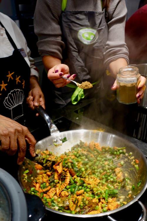 Vegi-Currys sind die Basis der indischen Küche.