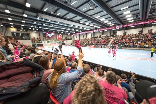 2312 Zuschauer kamen in die Arena. (Bild: Roger Grütter, Muri bei Bern, 17. März 2019)