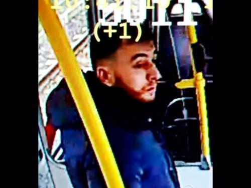 Die Polizei veröffentlichte ein Foto des mutmasslichen Täters. (Bild: KEYSTONE/AP)