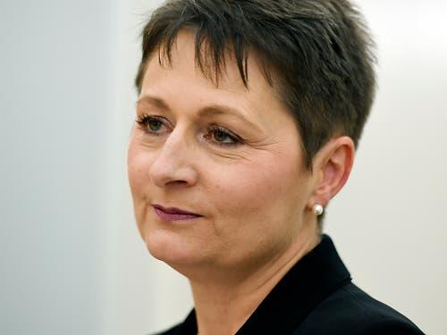 Der Aargauische Regierungsrat hat nach Kritik an der Amtsführung von Gesundheitsdirektorin Franziska Roth (SVP) eine unabhängige, externe Analyse in Auftrag gegeben. Die SVP Aargau unterstützt dieses Vorgehen (Bild: KEYSTONE/WALTER BIERI)