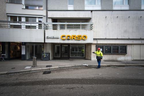 Das Kino Corso in besseren Tagen. (Bild: Michel Canonica - 22. Februar 2017)