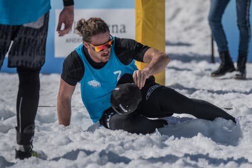 Snow-Volleyball-Schweizer-Meisterschaften in Andermatt. (Bild: Stephan Schori/Sportmoments