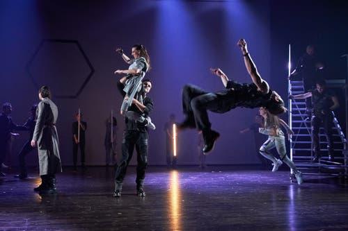 Action pur in den Choreografien von Maja Luthiger.