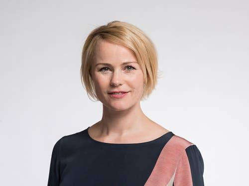 Will heute den Sprung in die Zürcher Regierung schaffen: SVP-Nationalrätin Natalie Rickli. (Bild: Keystone/CHRISTIAN BEUTLER)