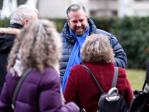 Zweiter aussichtsreicher Kandidat: FDP-Kantonsrat Thomas Vogel. (Bild: KEYSTONE/MELANIE DUCHENE)