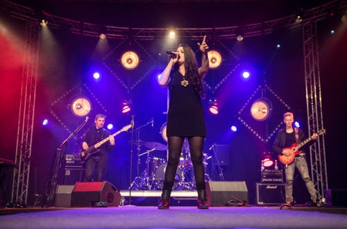 Frauenfeld TG - Die Band Rosdedale am Bluesfestival Frauenfeld 2019 in der Rüegerholzhalle.