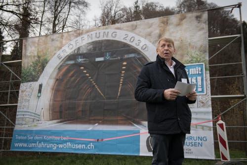 Josef Dissler, CVP, Wolhusen (Bild: Boris Bürgisser)