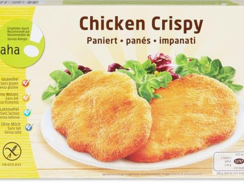 Chicken Nuggets können entgegen der Aufschrift auf der Packung Weizen oder Gluten enthalten. (Bild: Migros)