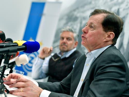 Mit Stephan Rietiker setzt GC auf ein unbekanntes Gesicht als Präsident (Bild: KEYSTONE/WALTER BIERI)